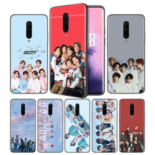 GOT7 kpop Soft Black Silicone Case Cover for OnePlus 6 6T 7 Pro 5G Ultra-thin TPU Phone Back Protective