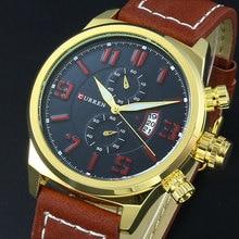 2016 CURREN Роскошные Повседневная Мужчины Часы Аналоговые Военные мужская Спортивные Часы Кварцевые Мужчины Наручные Часы Relogio Masculino Montre Homme