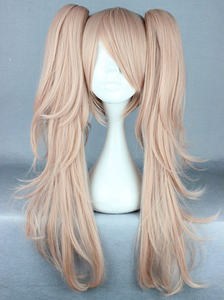 Image 2 - Anime Dangan Ronpa Enoshima Junko Wig Cosplay Costume Danganronpa Women Hair Halloween Women Wigs