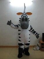 Горячая распродажа высокое качество Зебра талисман Карнавальный костюм нарядное платье костюмы для взрослых костюм Бесплатная доставка