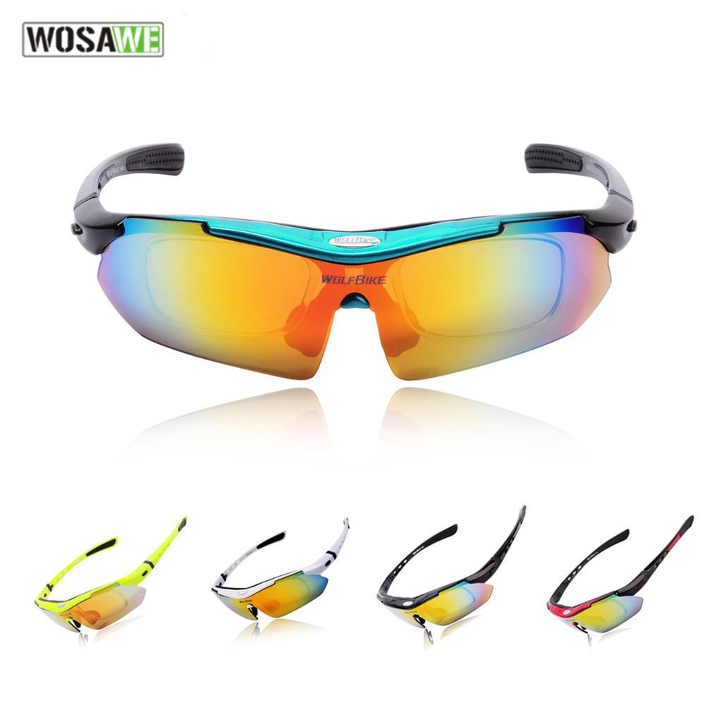 fbc02a7bcd Wosawe gafas hombre mujer polarizada motocicleta Gafas bicicleta al aire  libre gafas protección UV Gafas de sol