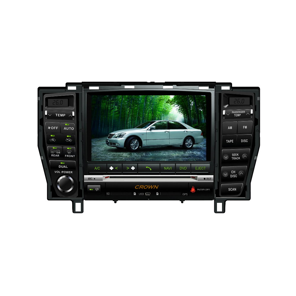 Для Toyota Crown Majesta Королевский S180 2004 ~ 2009 автомобиль радио dvd плеер gps NAV NAVI навигация Расширенный N303 Системы