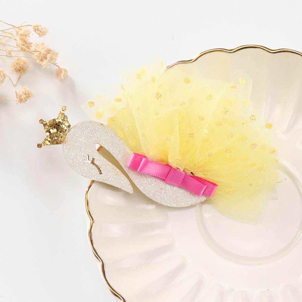 1 шт., новинка, милые заколки для волос ярких цветов, для маленьких девочек, кружевная Пряжка шпилька для волос, заколка для волос, головной убор, красивое платье, Танцевальная вечеринка, подарки