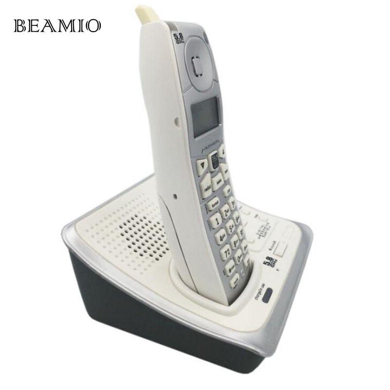 English Digital Cordless Wireless Telephone With Call ID Answer ...