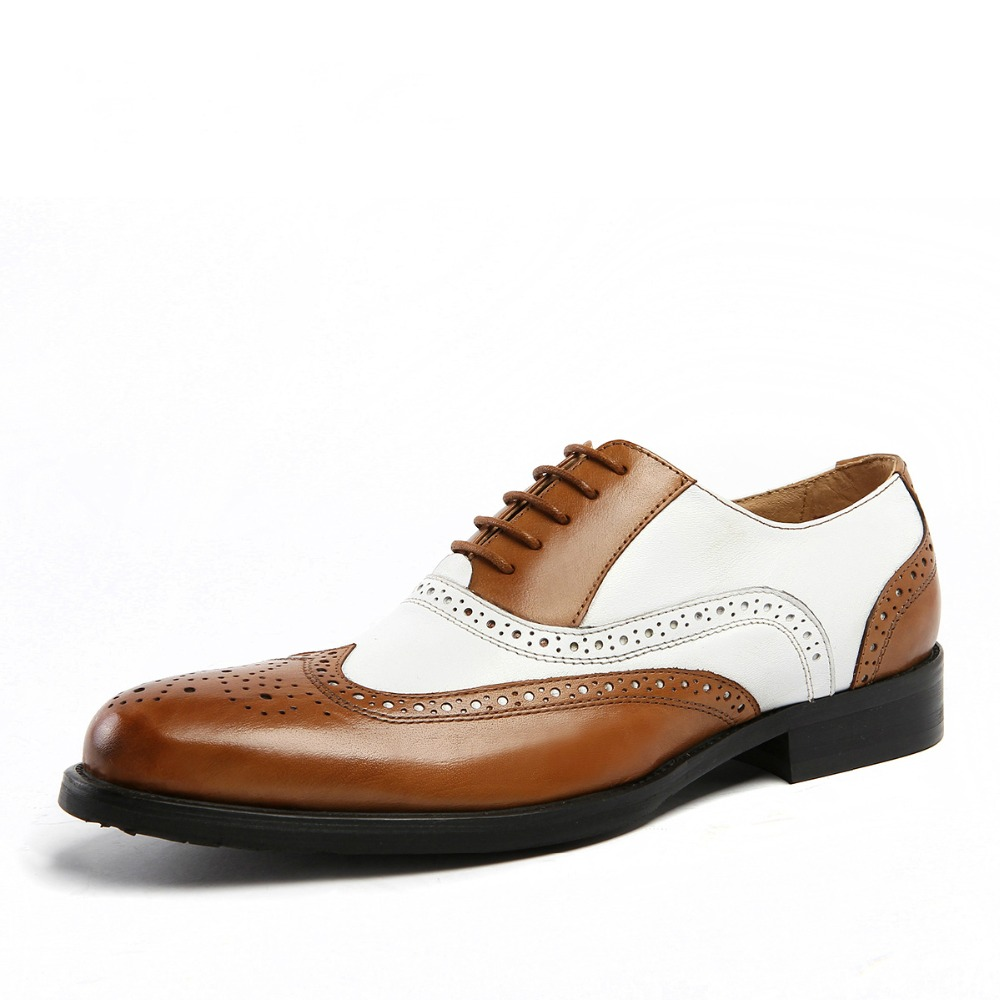 Mano De Zapatos Show Genuino Hechos as Patchwork Boda Colores Negocios A Show Hombre Mezclados Clásicos Banquete Oxford Cuero As qBrWanBY