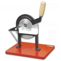 Yl858 Китайская медицина гильотина ручная машина для нарезки медицины Американский женьшень воск нарезки машина ручной резки