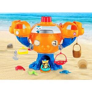 Image 4 - Octonauts المحيط مغامرة عمل دمى أشكال موسيقى خفيفة الفرح الأخطبوط قلعة مشاهد الأطفال لعبة تعليمية هدية عيد ميلاد
