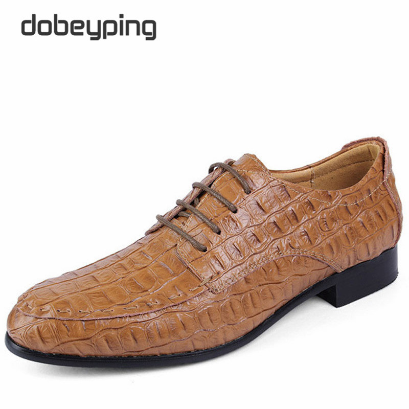 Man Oxfords font b Shoes b font 2016 New Fashion Pointed Toe Business Flat font b