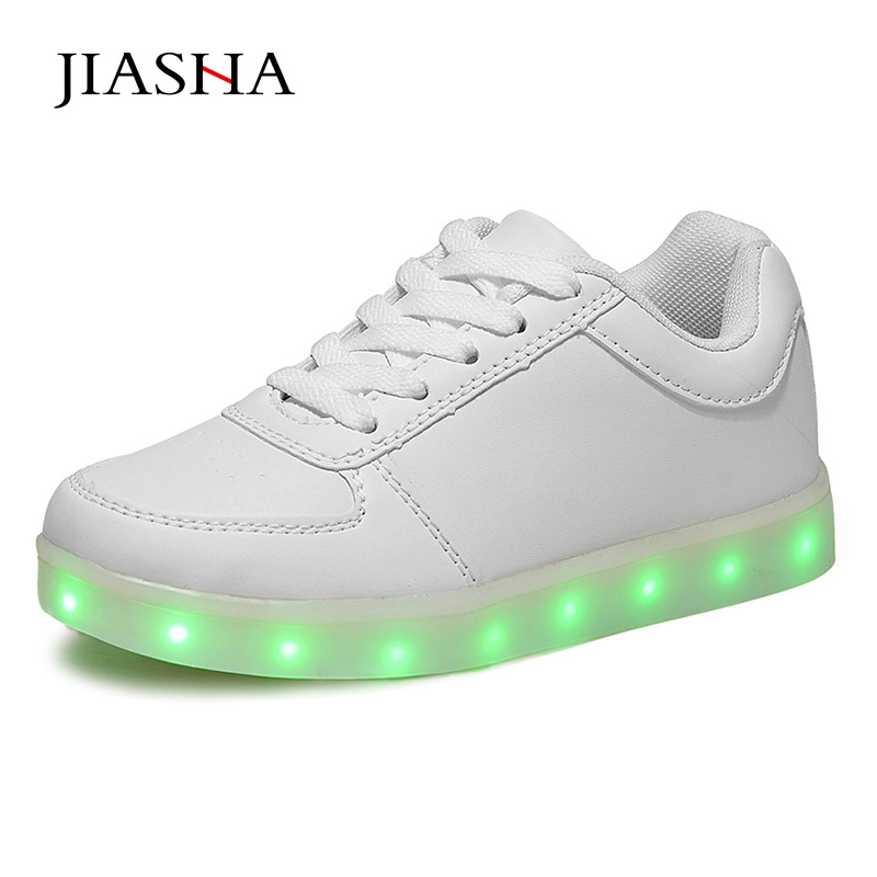 Women casual led shoes for adults 2017 hot colorful women shoes led luminous shoes women