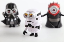 The Minions x Star Wars PVC Action Figures 4pcs/set 8cm