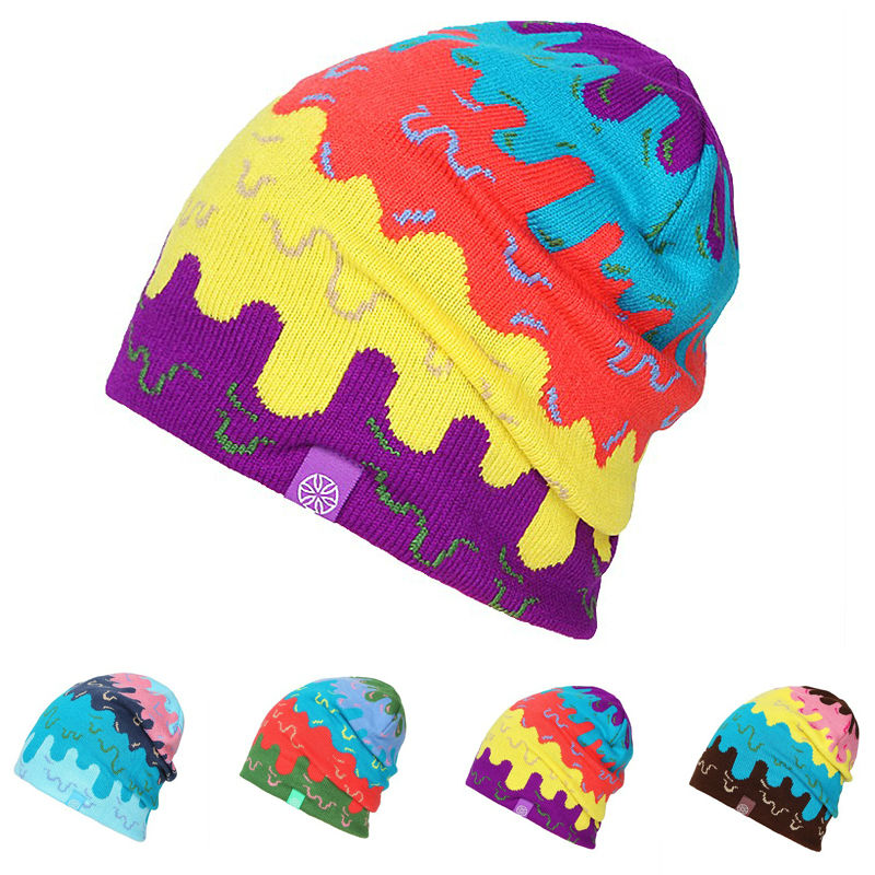 f7e85731138 2016 NEW MAN Skiing Hats Warm Winter Knitting Skating Skull Cap Hat Beanies  Turtleneck Caps Ski Cap Snowboard-in Skullies   Beanies from Apparel  Accessories ...