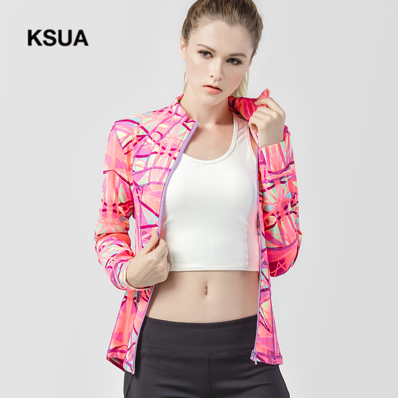 Detector Women Running Jacket Clothing Quick-dry Long-sleeve Sportswear for Female Sports Fitness Zipper Coat Outerwear T018 women s running jackets 2017 spring new long sleeve running jacket yoga gym fitness tight tops quick dry breathable sports coat