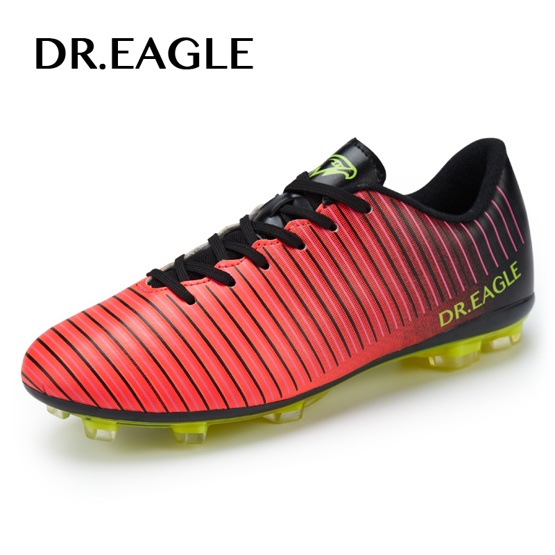 DR. EAGLE/Мужская Уличная футбольная обувь для взрослых, бутсы, Спайк, футбольные бутсы для мужчин, профессиональный FG/AG, супертонкие футбольные