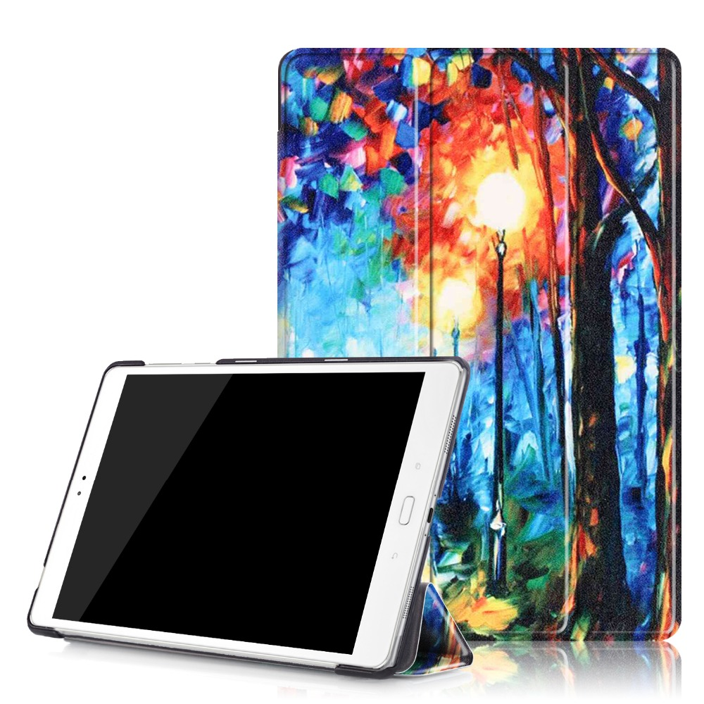 For Coque Asus Zenpad 3S 10 Z500M Case Colorful Painting Flip Folio PU Leather Cover Case For Asus Zenpad 3S Z500M 10 Tablet asus zenpad 3s 10 lte