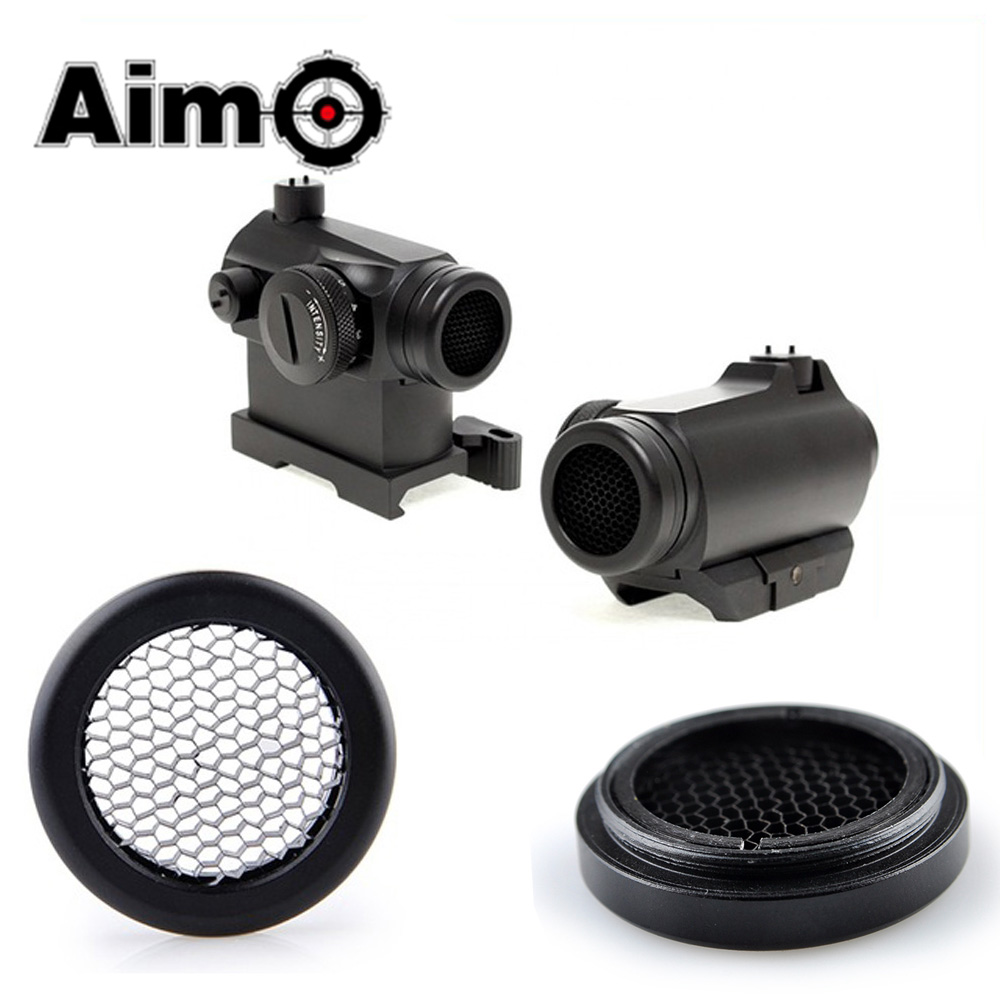 AIM-O Airsoft Killflash/Kill Flash For Solar Red Dot T-1 / T1 / T-2 / T2 / TR02 Scope Accessories Tactical Sunshade Lens Cover
