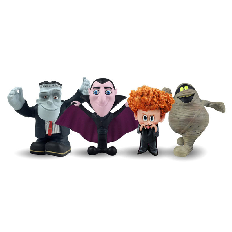 Keyring-Toys Dracula Small-Figure Hotel Transylvania Dennis For-Collection 2-Murray Chain