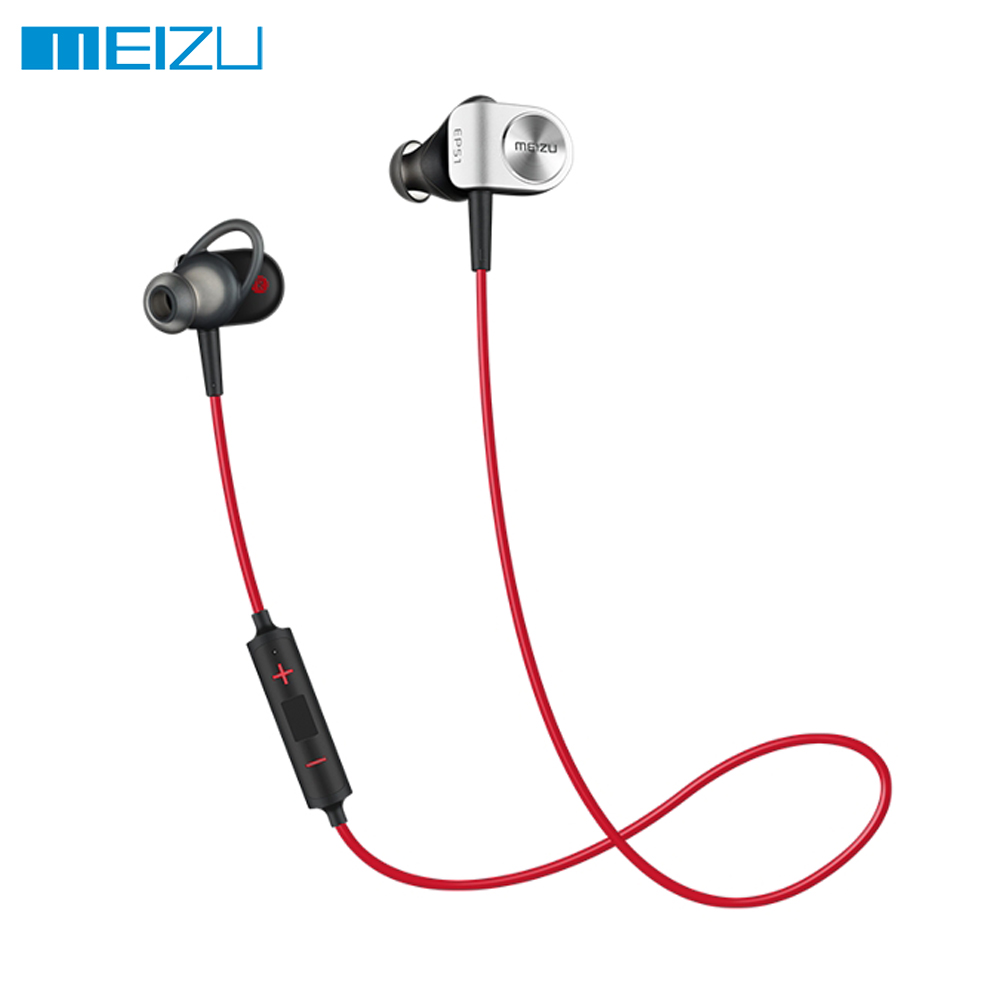 все цены на Original Meizu EP51 Wireless Bluetooth Earphone Stereo Headset Waterproof Sports Earphone With MIC Supporting Apt-X онлайн