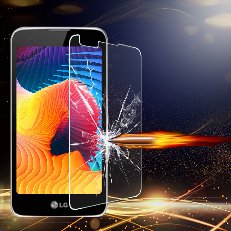 McCollum Tempered Glass For LG K7 LTE Tribute 5 LS675 MS330 5.0 inch Screen Protectors