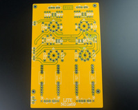 LITE LS69 PCB Fully Balanced Tube Preamplifier PCB Blank Board 6922 Tube Power Amplifier Circuit PCB