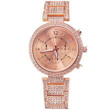 Montre Femme Fashion Women Watches Alloy Strap With Many Luxury Crystal Elegant Lady Wristwatch Quartz Analog Watch Geneva Style
