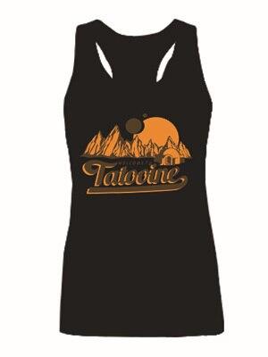 Star Wars bienvenida a Tatooine Womens Tank Tops para mujer sin mangas tanques camisa a la moda Girls Singlets chaleco
