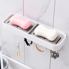 Мыльница, ванная, настенная пластиковая мыльница, мыльница для ванной комнаты