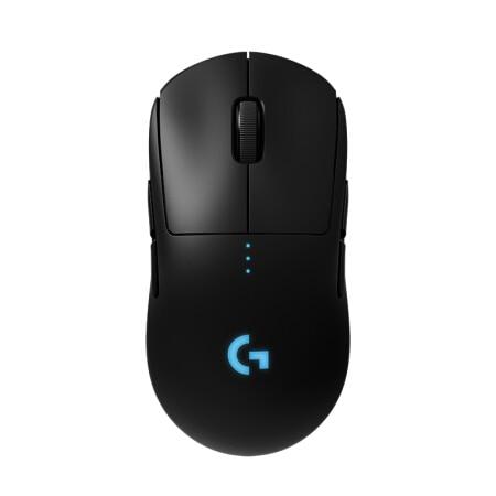 Logitech G PRO Wireless Top Gaming Mouse For ESports Hero16K Sensor RGB Lighting 16000DPI Wireless Charging