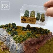 Кустарник растительность военный симулятор сцена песок стол Пейзаж Дерево Модель Материал