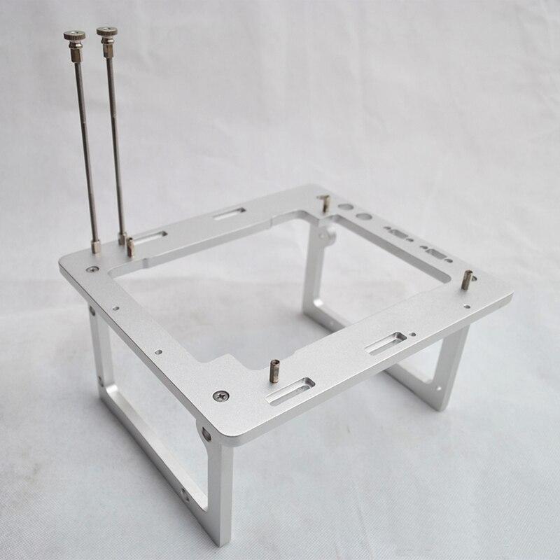 Plataforma de Teste a4 de Refrigeração a Água Mini Chassi Todo-alumínio Computador Host Aberto Faça Você Mesmo Alienígena Itx