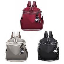 2019 Favorable Fashion Women Lady School Nylon Girls Backpack Travel Shoulder Bag Rucksack Daypack