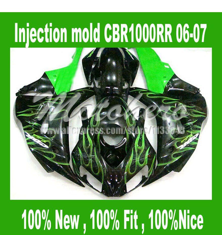 Carenados de inyección para Honda cbr1000 RR 06 07 CBR 1000 RR 2006 ...