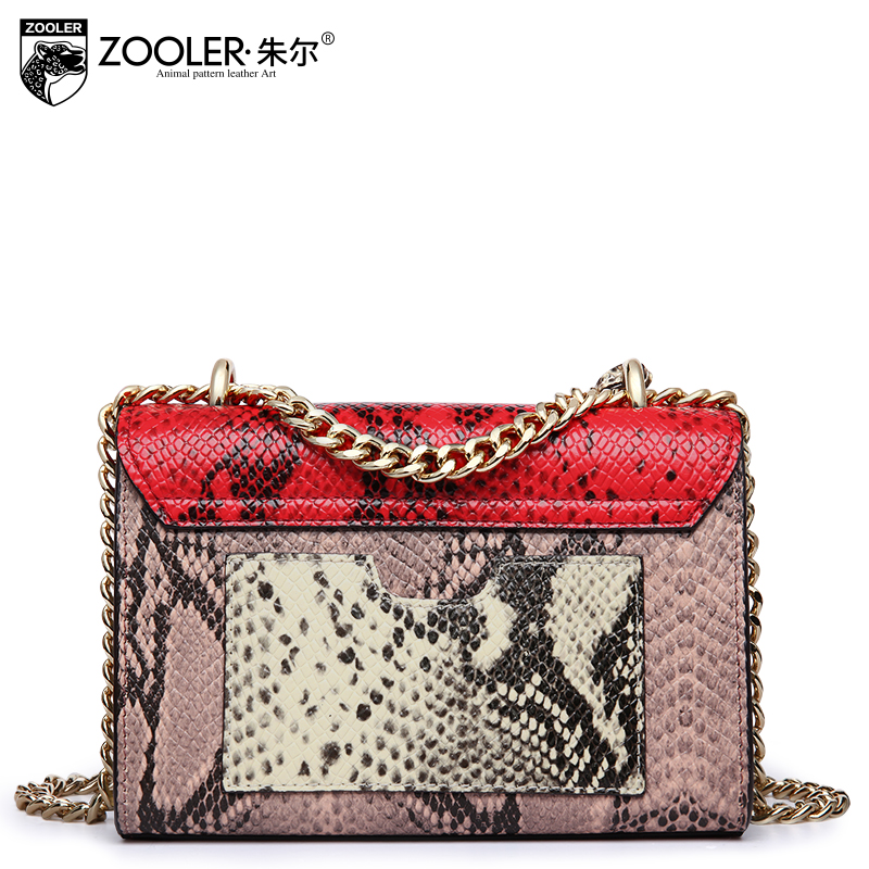 Гарячі ZOOLER сумка з натуральної шкіри - Сумки - фото 4