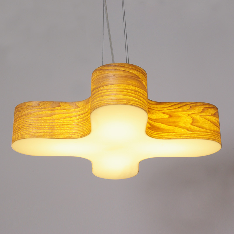 The designer wooden log LED wood pendant lamps dining room bedroom study office wood ring lighting pendant light ZA90621 led 51w 60w acrylic contracted creative ring study bedroom restaurant dining room store lighting lamps and lanterns 220 240v 9