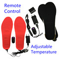 Free shipping 2300mAh Rechargeable Electric Heating Insoles Winter Outdoor Keep Warn With Remote Control