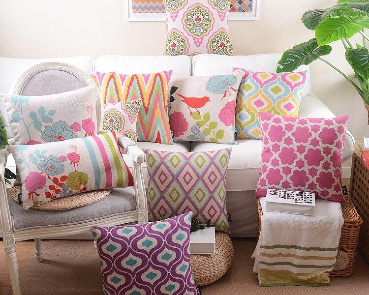 wholesale 45x45 cotton square pillow 8f9fc64236fd
