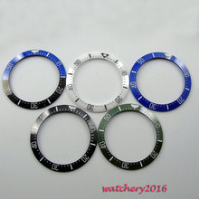 Лидер продаж, высококачественная керамическая вставка для циферблата диаметром 39,9 мм черного, синего, зеленого цветов (5 цветов на выбор), изготовлена для часов с автоматическим механизмом диаметром 44 мм