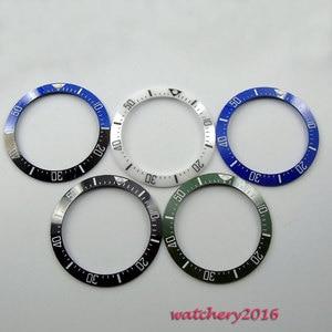 Image 1 - Hot Hoge Kwaliteit 39.9Mm Zwart Blauw Groene Keramische Bezel Insert ( 5 Kleur Gekozen) gemaakt Voor 44Mm Automatische Beweging Horloge