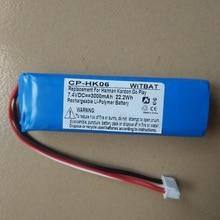 Батарея для Harman Kardon Go Play Player Bateria литий-полимерный перезаряжаемый аккумулятор Замена Новый 7,4 в 3000 мАч
