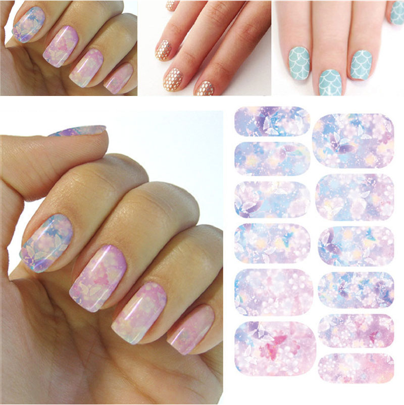 Japanese Style 3d Design Tip Nail Art Nail Sticker Nail Decal