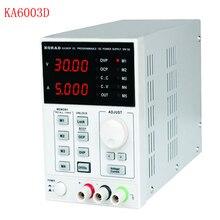 1 шт. KA6003D Высокоточный лабораторный Программируемый Регулируемый Цифровой Регулируемый источник питания постоянного тока 60 в/3A mA 4 Ps