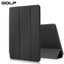 Case for iPad Air 2nd inch, GOLP Perfect Fit PU Leather Cover Case, no difference with offical protective shell 6/Air 2