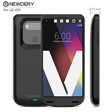 ФОТО hot selling 5000mah battery charger case detachable power phone battery case for lg v20  backup battery case