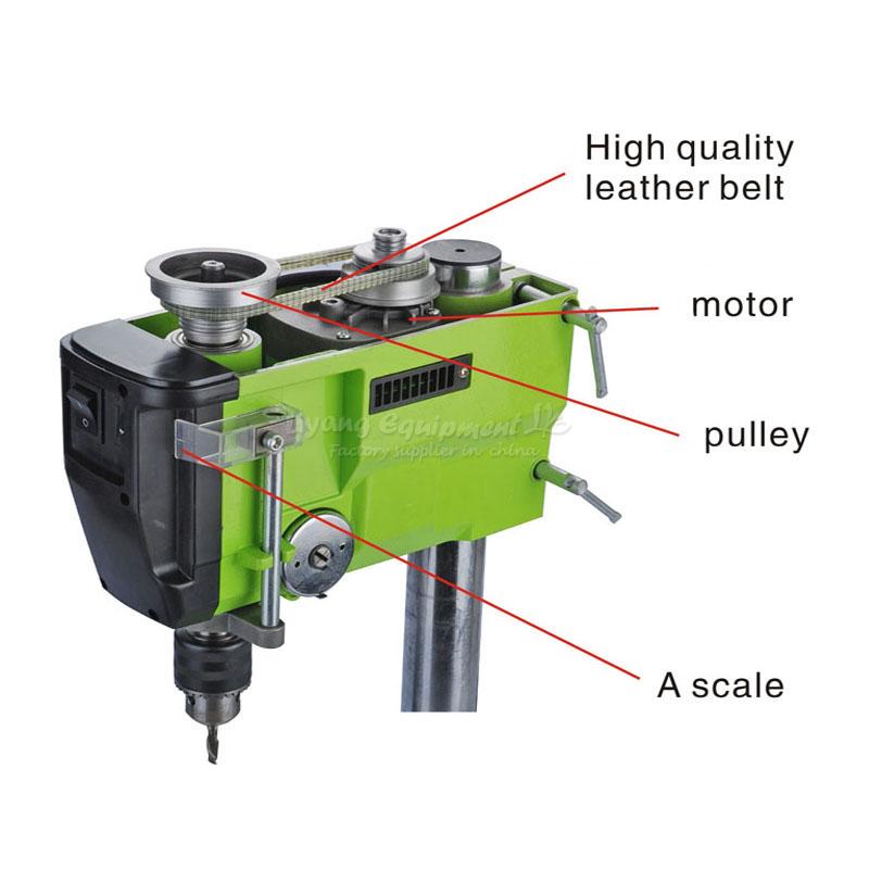 5168E Mini máquina de perforación eléctrica de velocidad Variable de ...