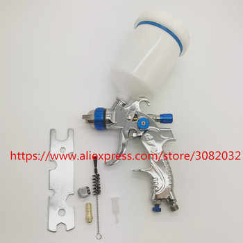 601 spray gun HVLP SPRAY GUN gravity feed tainless steel nozzle 1.4mm 1.7mm 2.0mm auto Car face Paint spray gun