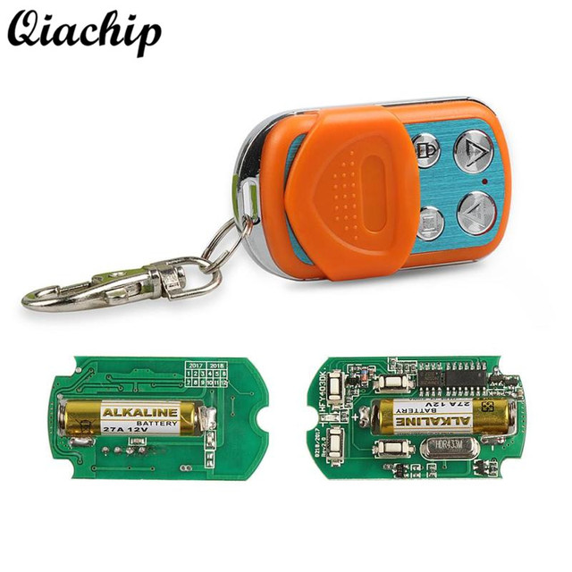 Qiachip 433mhz 4ch Button Cloning Transmitter Duplicating Remote