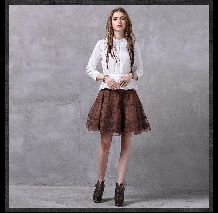 Jupe Mode Filles Taille 1 Pour Femmes Avec Femme Printemps Jupes Mini Été Vintage Vêtements Coréenne 2018 Saia Élastique 7qwdg