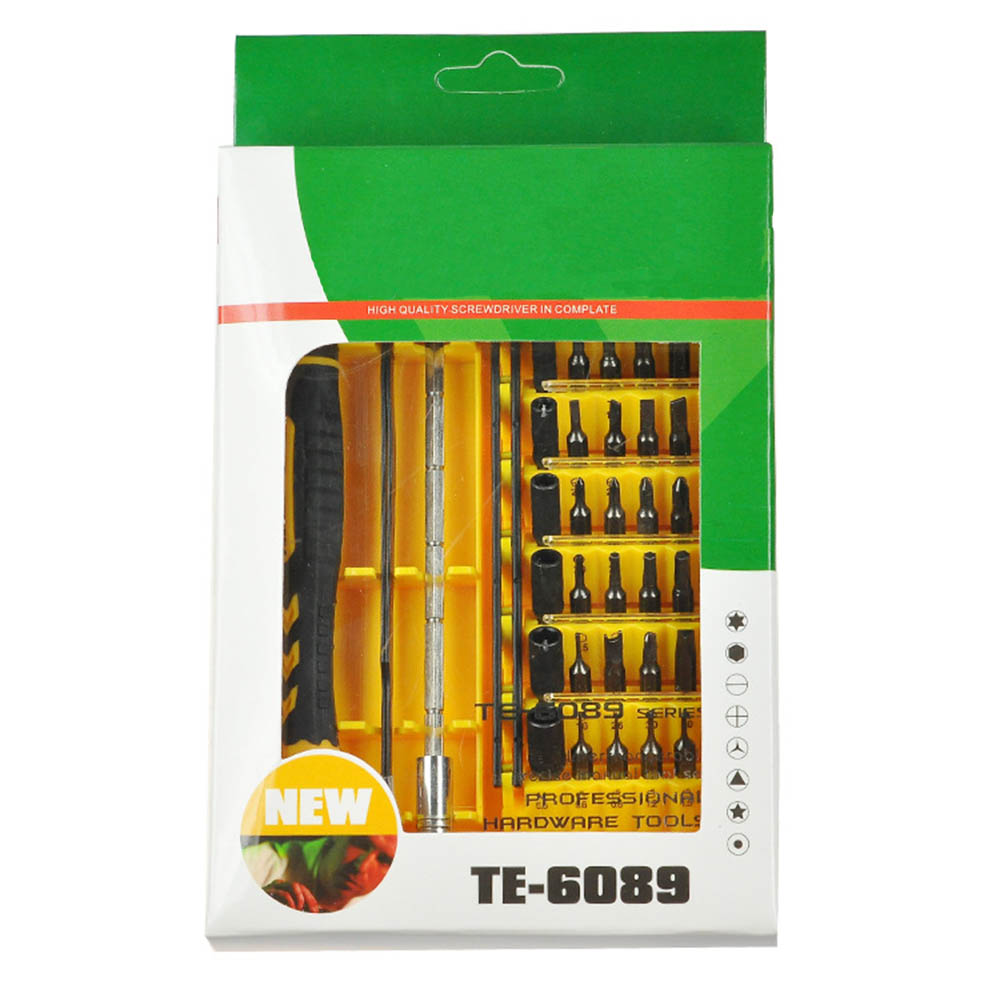 45 In Precision Screwdriver Set Disassemble for Tablets Phone Computer Laptop PC Mini Clock Electronic Repair Tool Kit