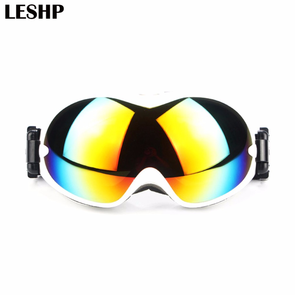Double Layered Ski Goggles Skiing Snow Protective Glasses Snowboard Eyewear Anti-sand Windproof spectacles Unisex for Women Men polisi winter snowboard snow goggles men women double layer large spheral lens skiing glasses uv400 ski skateboard eyewear
