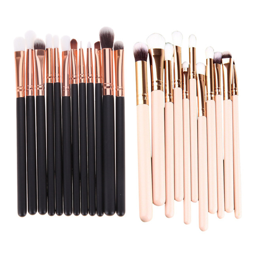 High quality 12 Pcs Blending Pencil Foundation Eye shadow Makeup Brushes Eyeshadow Eyeliner Eyes Make up Brush Set professional 12 pcs blending pencil foundation eye shadow makeup brushes eyeshadow eyeliner