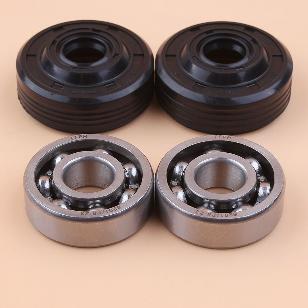 Crank Bearing Oil Seal Kit For Husqvarna 136 137 141 142 235 236 240 235e 240e 36 41 Gasoline Chainsaw 530056363, 530 05 63 63
